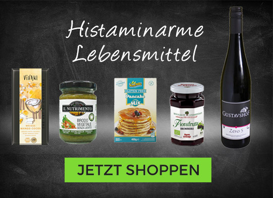 Histminintoleranz Shop