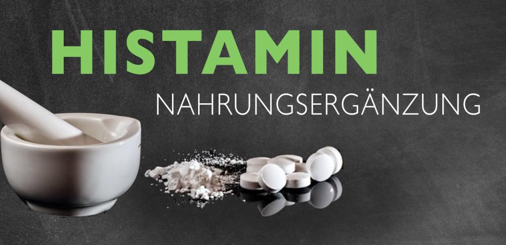 Histaminintoleranz Nahrungergänzungsmittel